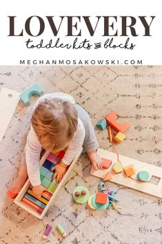 Lifestyle Coach, Meghan Mosakowski, reviews the eco-friendly and educational Lovevery Toddler playkits and new block set!