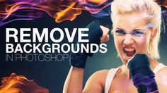 Photoshop: Remove Black and White Backgrounds in Photoshop | IceflowStudios
