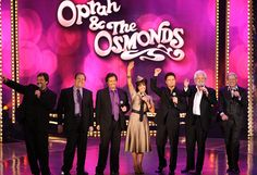 The Osmond Family Reunion  For 50 years, America's been in love with the Osmond family! It all started with George and Olive Osmond, who had nine children, who then had 55 children, who then had 48 kids of their own! In 2007, more than 100 Osmonds, including famous siblings Donny and Marie, reunited on The Oprah Show stage.