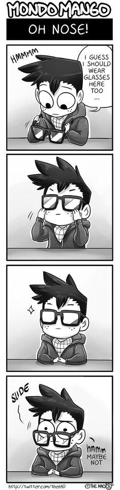 Mondo Mango :: Oh Nose! | Tapas Comics - image 1