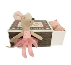 Little Sister Mouse in a Box