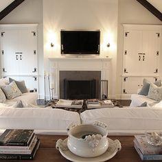 U Shaped Furniture Arrangement