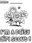 Daisy Girl Scout Coloring Pages - Bing Images