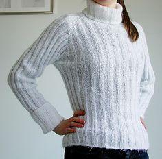 Tante er fortsatt GAL!!: Lær deg å strikk Raglan Top/Down