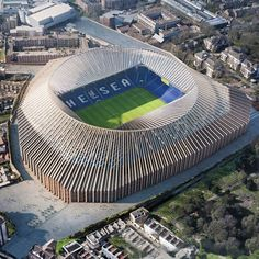 Herzog & de Meuron wins permission to revamp Chelsea football stadium