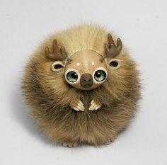 Spirit of Woods Furry Creature by RamalamaCreatures.deviantart.com on @deviantART