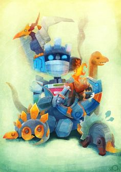 Wheeljack papa and baby Dinobots Papa Wheeljack Old School Toys, Transformers Prime, Dragon, Geek Art, Comic Book Characters, Geek Culture, Tumblr, Cool Art, Geek Stuff