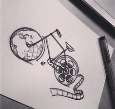 tattoo idea, bicycle