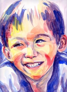 Young L painted at his Mother's request.