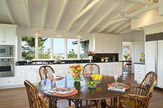 Classic Beach House - traditional - kitchen - New York - Kitchens & Baths, Linda Burkhardt