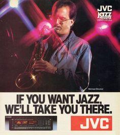 Michael Brecker / JVC 1985 / www.1001hifi.com Michael Brecker, Audio Equipment, The Unit, Vintage
