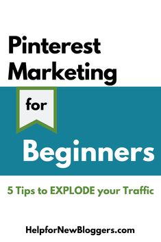 Are you new to marketing and wondering how to make the most of Pinterest for your business? Following are my best tips on Pinterest marketing for beginners. Social Media Digital Marketing, Pinterest For Business, Pinterest Marketing, Blog Tips, 6 Years, Blogging, Buisness, Paradise, Hacks