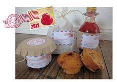 Himbeerlimonade, - brötchen & - Marmelade... aus Lenis Küche