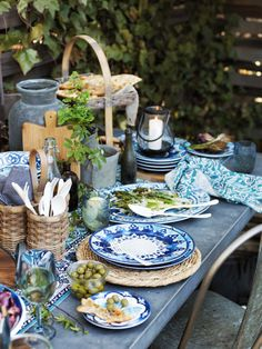 Mesa de Exterior / Outdoor Table Setting