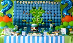 Boys Birthday Party Ideas Frog Theme -- Punkers n Pie on Etsy has clothing to match this party theme Frog Birthday Party, Pirate Birthday, 1st Boy Birthday, Boy Birthday Parties, Golden Birthday, Happy Birthday, Birthday Themes For Boys, Birthday Ideas, Frog Theme