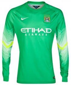 137ab8f4d New Man City GK Kit 2014 15 Goalkeeper Shirts