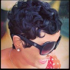awesome Idée coupe courte : Curls curls curls!!!! Like the River Salon...