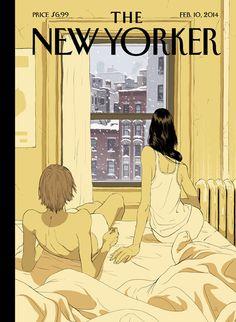 כבוד גדול לתומר חנוכה על השער לניו-יורקר :) Tomer Hanuka makes his 'New Yorker' cover debut