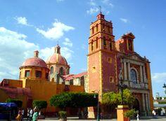 Cathedral, Tequisquiapan, Queretaro, Mexico