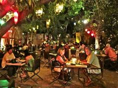 Tequila restaurante in San Jose del Cabo. Very romantic courtyard! Here for our honeymoon :)
