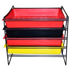 1950s Storage Rack by Charlotte Perriand