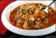 Tomato-Freekeh Soup: Healthy Comfort for Souper (Soup, Salad