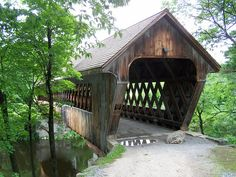 New England College Covered Bridge- Henniker NH (1) by kevystew, via Flickr