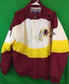 Vintage-Proline-Apex-Washington-Redskins-NFL-Stadium-Parka-Large