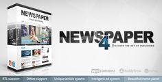 Newspaper 7.6.1  WordPress Theme Screen Preview