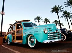 1948 Ford Woody Station Wagon.