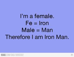 I am Iron Man! \m/