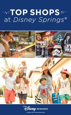 Disney Springs is full of shops designed to deliver all the fun of watching your wish list come to life. We've compiled our list of eight must-see Disney shops all around Disney Springs. Let the shopping begin! Disney Cruise, Disney Vacations, Disney Rewards, Disney World 2017, Disney Travel Agents, Disney Aesthetic, Disney World Tips And Tricks, Disney Springs, Disney Girls