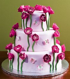 Ranunculus Cake by Jacques Fine European Pastries