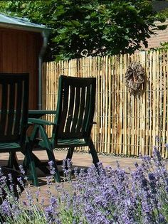 Gartenzaun und Sichtschutz