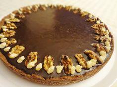 Tarta Daím - chocolate, caramelo y nueces - Süss Pastelería