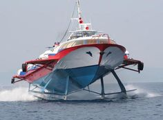 15 Unusual Forms of Transport Around the World Speed Boats, Power Boats, Ecole Design, Runabout Boat, Flying Dutchman, Cabin Cruiser, Cool Boats, Flying Car, Yacht Design