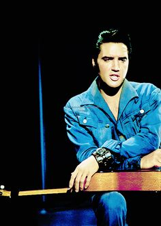 """princefromanotherplanet: """" Elvis Presley, 1968. """" Elvis 68 Comeback Special, Elvis Presley Videos, Tupelo Mississippi, King Of Music, Most Beautiful Man, Country Music, Rock N Roll, Pretty People, Country"""