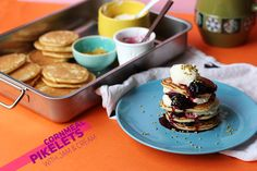 Cornmeal Pikelets with Jam & Cream | The Sugar Hit | The Sugar Hit