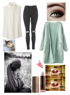 """Teen Wolf- Scott's Girl"" by nbrmacdonald ❤ liked on Polyvore featuring Uniqlo, Dulce, Topshop, COVERGIRL, Ilia, women's clothing, women's fashion, women, female and woman"