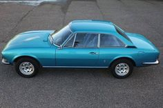 1972 Peugeot 504 Coupé 1.8L Injection | I4, 1,796 cm³ | 100 PS | design: Aldo Brovarone, Pininfarina