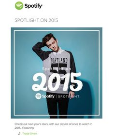 opened my @Spotify newsletter and was nOT EXPECTING THIS  #TroyeSivan