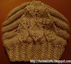 Resultado de imagem para receita gorro trico feminino