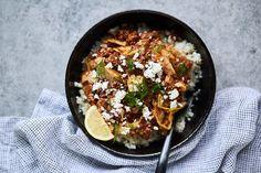 Greek Lamb and Cabbage Bowls {Paleo, Keto, Gluten-Free, Whole30}