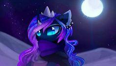"""It's so cold"", MLP: Princess Luna"