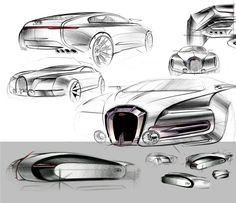 Bugatti Grand Colombier on Behance