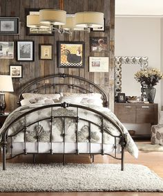 Look what I found on #zulily! Iron Arch Queen Bed by HomeBelle #zulilyfinds