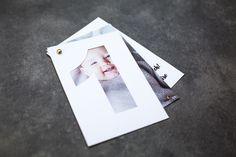 Einladungskarte DIY Kindergeburtstag mit Fotos basteln Familienfotografie