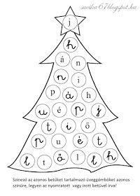 Játékos tanulás és kreativitás: Adventi tevékenységek 8.: Karácsonyfás betű- és szókereső játék