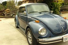 1979 Azure Blue Restored So-Cal Vert, personally restored 1979 Karmann Cabriolet to new condition.  Starting bid price at ebay is $16,000 USD. Car is located in Encinitas, California, U.S.A.  It has NEW the following:  - Engine (line bore/cyl -pistons/heads)   - brakes (master cyl,wheel, cyl and rubber hose's),  - tires (Yokohama YK420/ 195/65)   - clutch,clutch cable,accerator cable, windsheild,   - front struts (KYB's),   - paint (Azure Blue),   - front seats and adjusters   ....