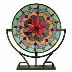 Dale Tiffany Jenny Accent Lamp with Stand